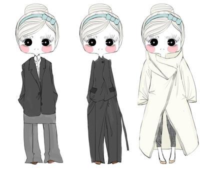 Duvet Coat by Amberissa