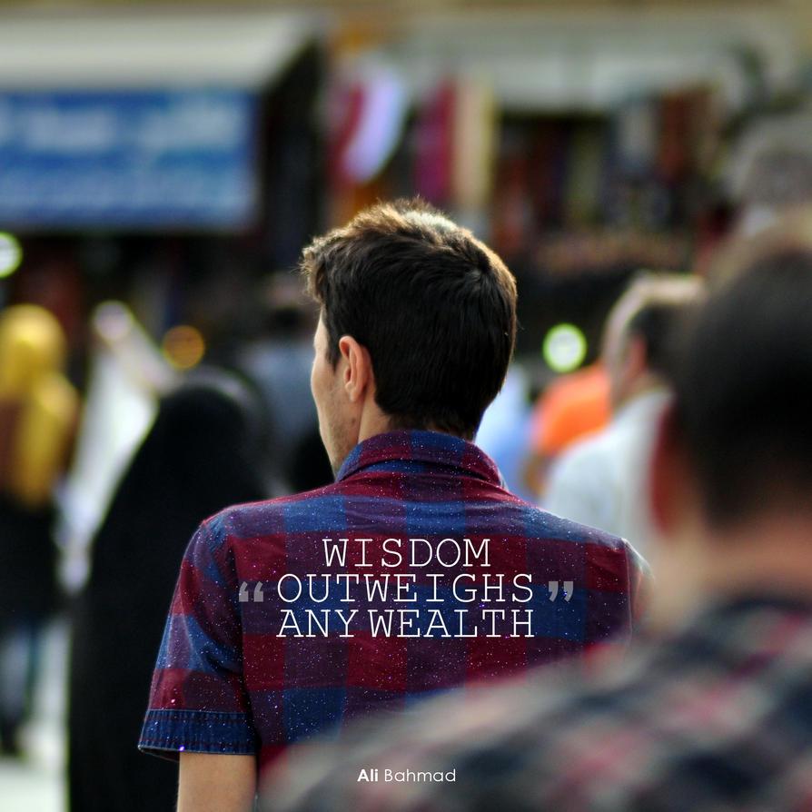 wisdom... by baqiyyahh