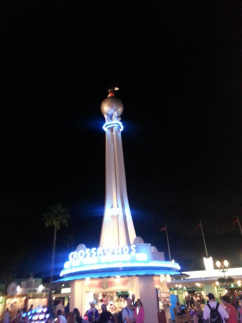 Hollywood Studios Mickey on globe by lunablack14