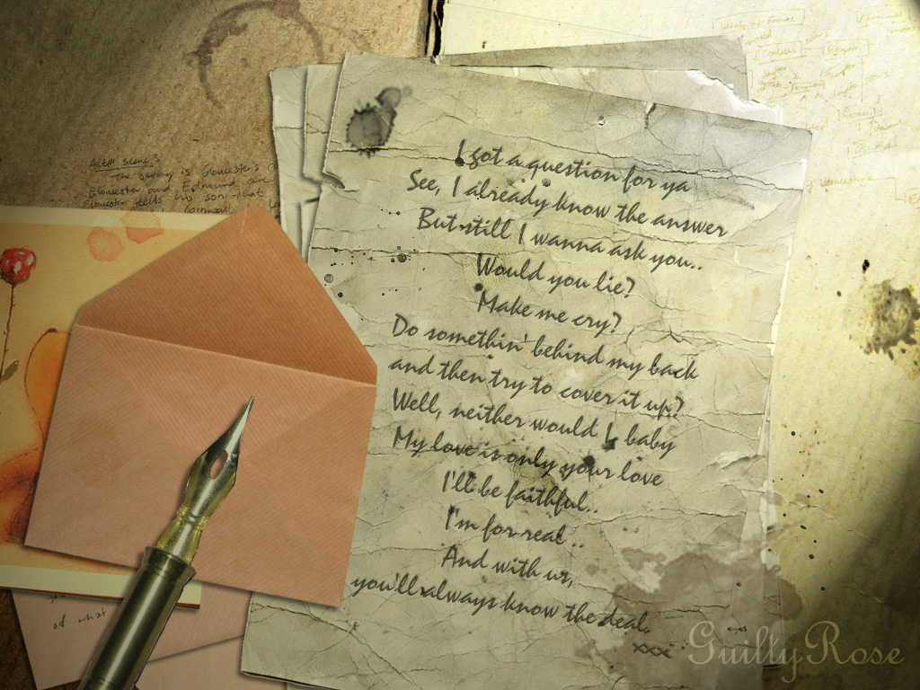 Love letter by GuiltyRose