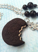 Oreo Necklace by KatGore