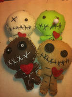 VooDoo BabyDoll Plushies by KatGore