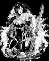 Battle Angel: Alita [FanArt] by HungDK