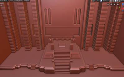 Chupichupyoi Temple in 3D (in work)