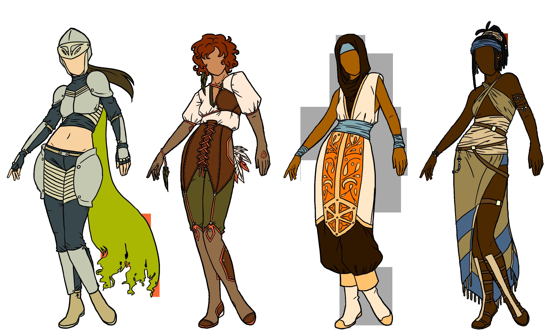 warrior designs by owlinabox on deviantart