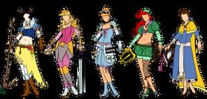 Disney fantasy designs 1
