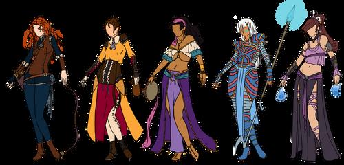 Disney fantasy designs 3 by Owl-in-a-box