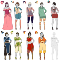 Outfit Adoptables 102 by Owl-in-a-box