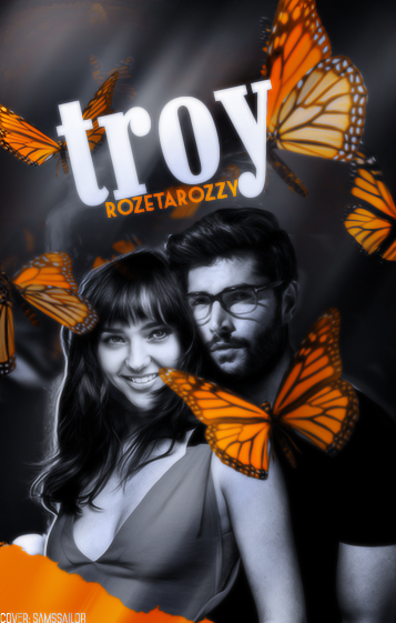 Wattpad Cover #5| Troy by SmilerGorl9