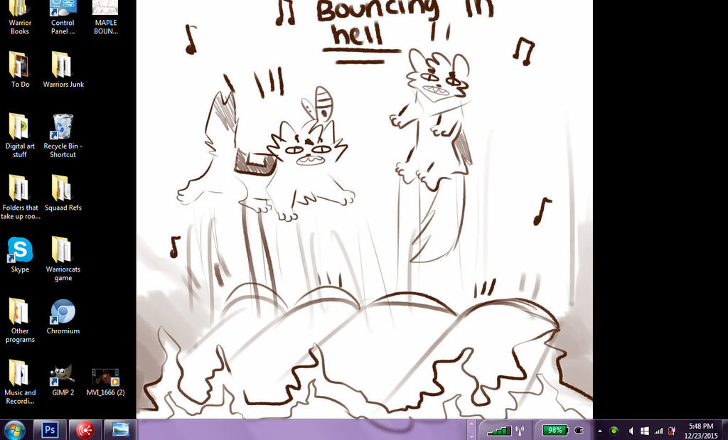Officially my new wallpaper from maplespyder by SnowWhisker4