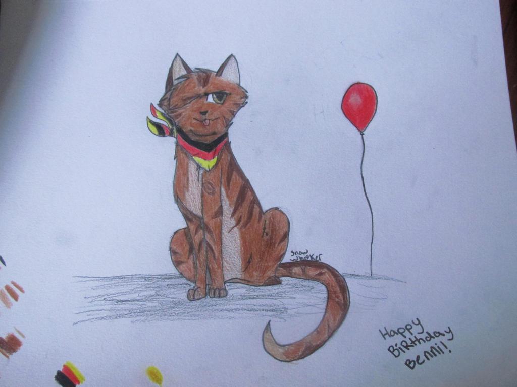 Happy Birthday BENNIIIIIII by SnowOwO
