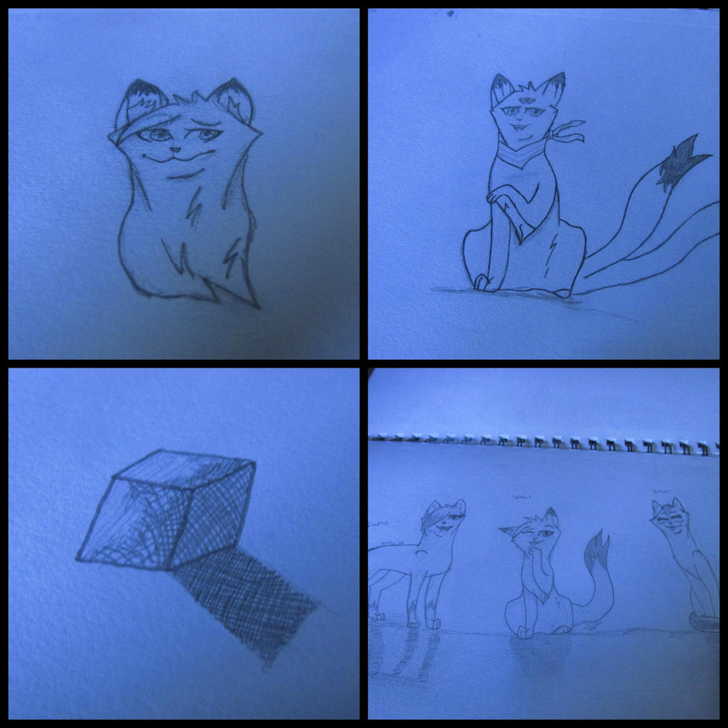 Sketch Dump by SnowOwO