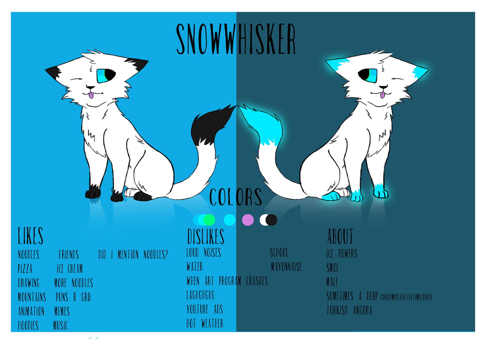 Snowwhisker Ref August 2016 by SnowWhisker4