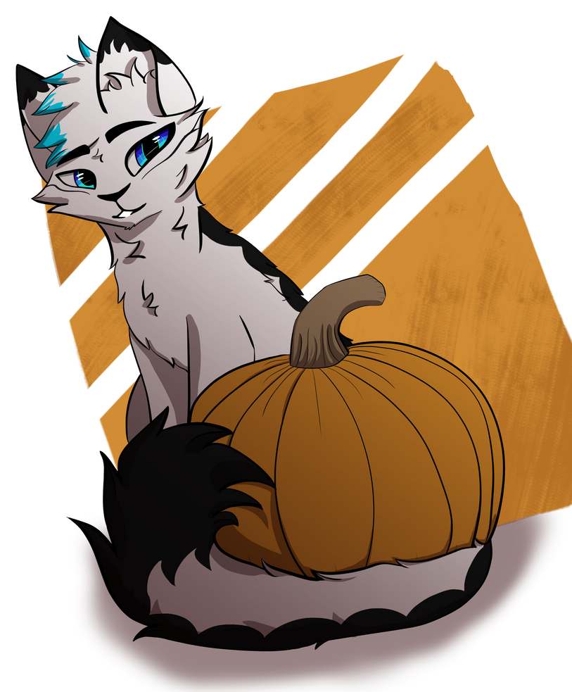 spoop - speedpaint by SnowWhisker4