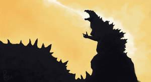 haha big lizard go death ray
