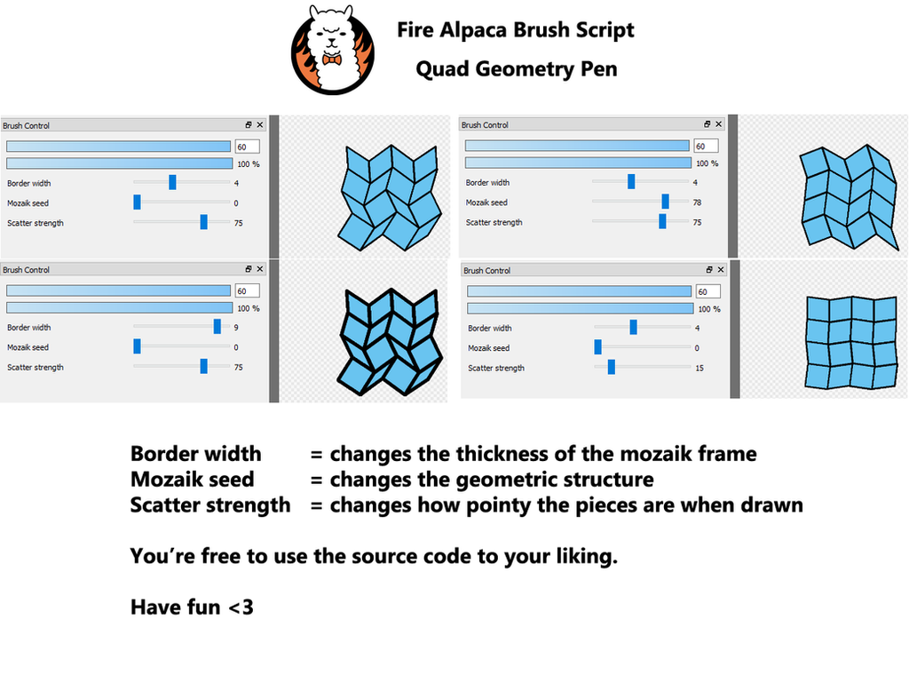 firealpaca how to add more brush