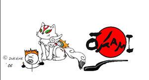 Wolf Okami by Okami-FanClub