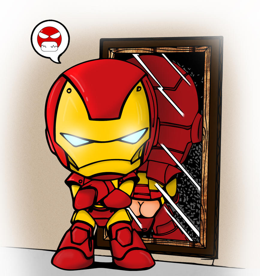 Chibi Ironman by Fatferret on DeviantArt
