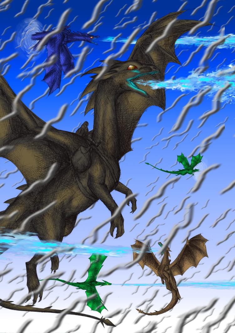 Dragon riders of Pern by FanDragonBall