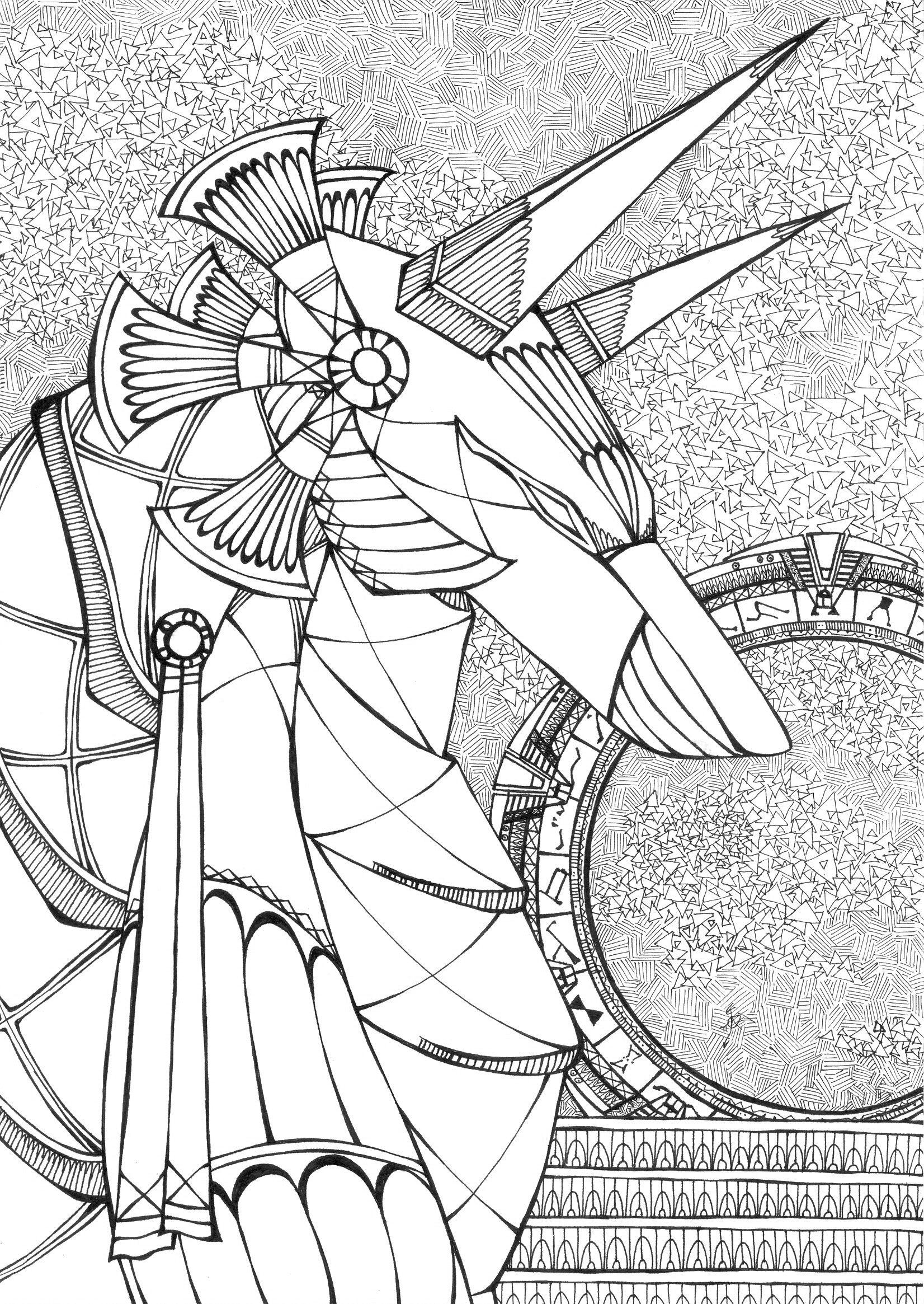 [RYSUNKI]- czyli mini Deviant Saf Stargate__anubis_jaffa_by_fandragonball-d5qadms