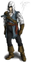 Ralph - Assassin of the Caribbean concept art by Safari-FDB