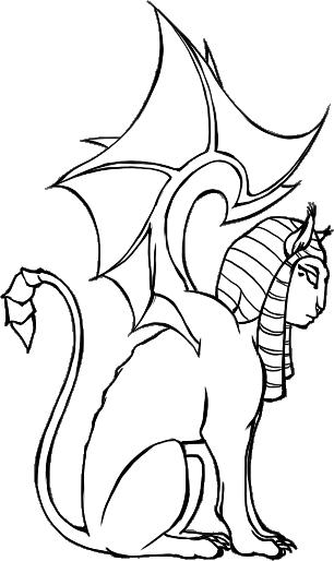 [RYSUNKI]- czyli mini Deviant Saf - Page 3 Sphinx_by_fandragonball-d730lmd