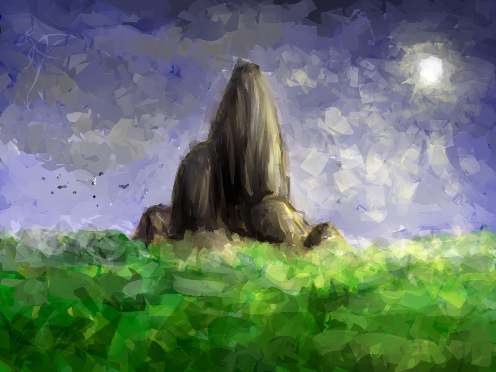 [RYSUNKI]- czyli mini Deviant Saf - Page 3 Landscape_by_fandragonball-d75nvcy
