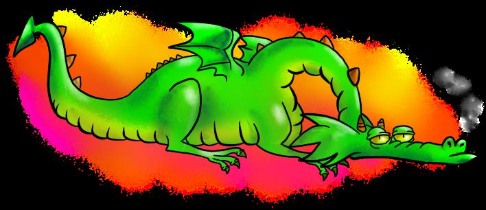 [RYSUNKI]- czyli mini Deviant Saf - Page 4 Bored_dragon_by_fandragonball-d7bewgs