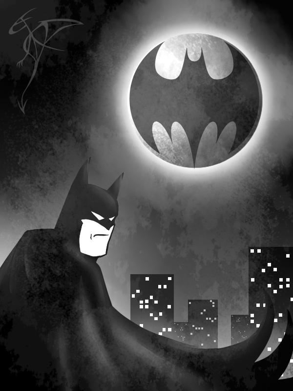 [RYSUNKI]- czyli mini Deviant Saf - Page 4 Batman_by_fandragonball-d7hikrc
