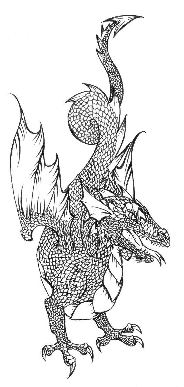 [RYSUNKI]- czyli mini Deviant Saf - Page 4 Dragon_54_by_fandragonball-d7ilbh7