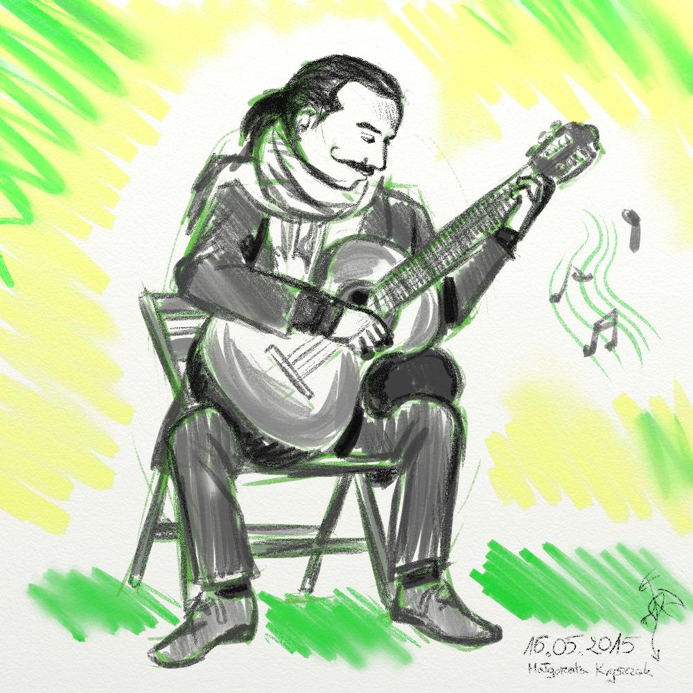 [RYSUNKI]- czyli mini Deviant Saf - Page 6 Gitarzysta_by_fandragonball-d8tp6lv