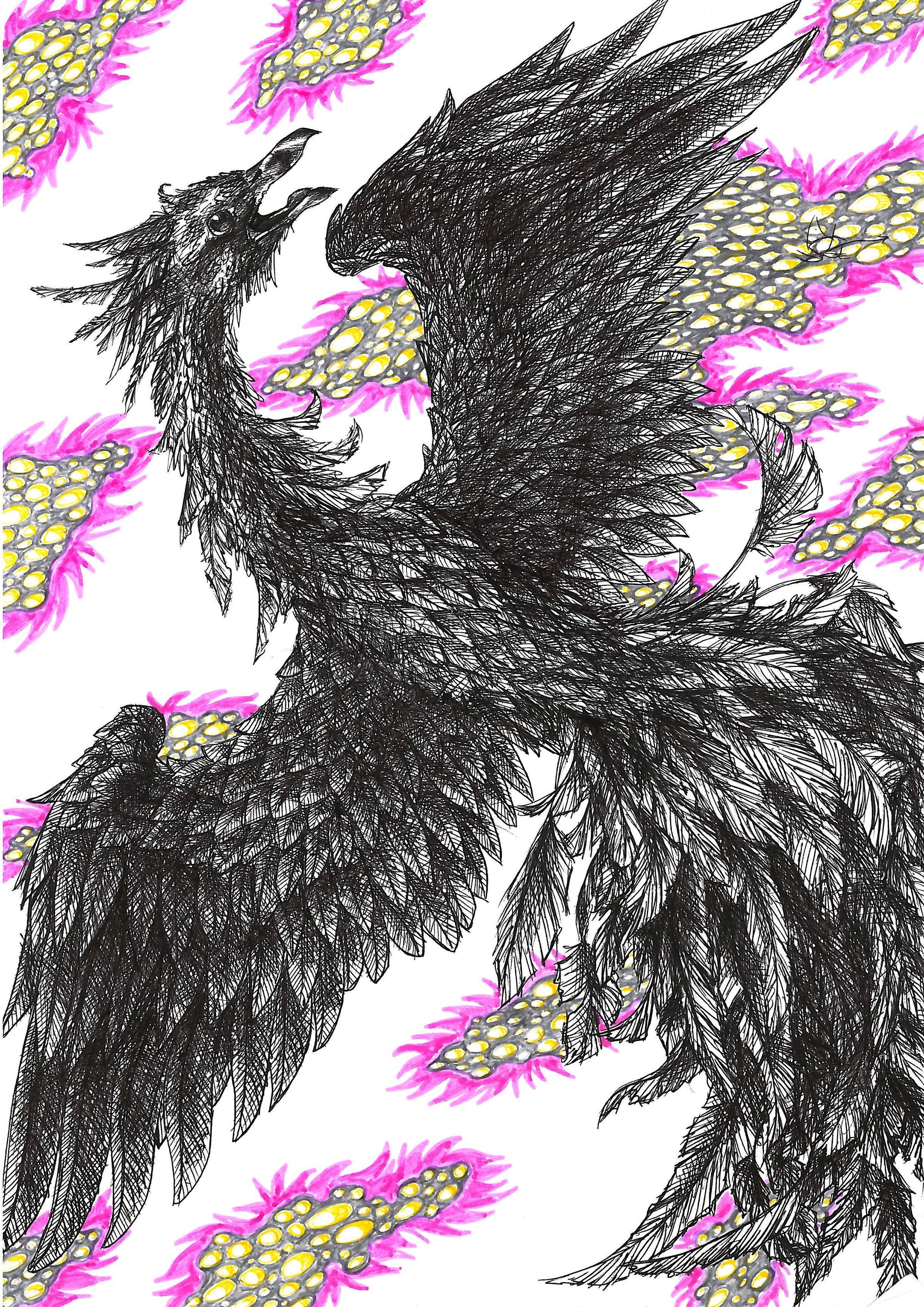 [RYSUNKI]- czyli mini Deviant Saf - Page 6 Phoenix_by_fandragonball-d9rmvah