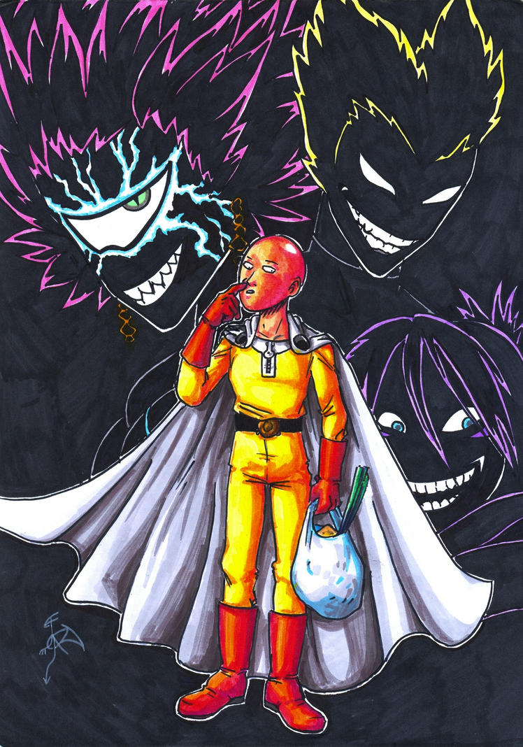 One Punch Man by FanDragonBall