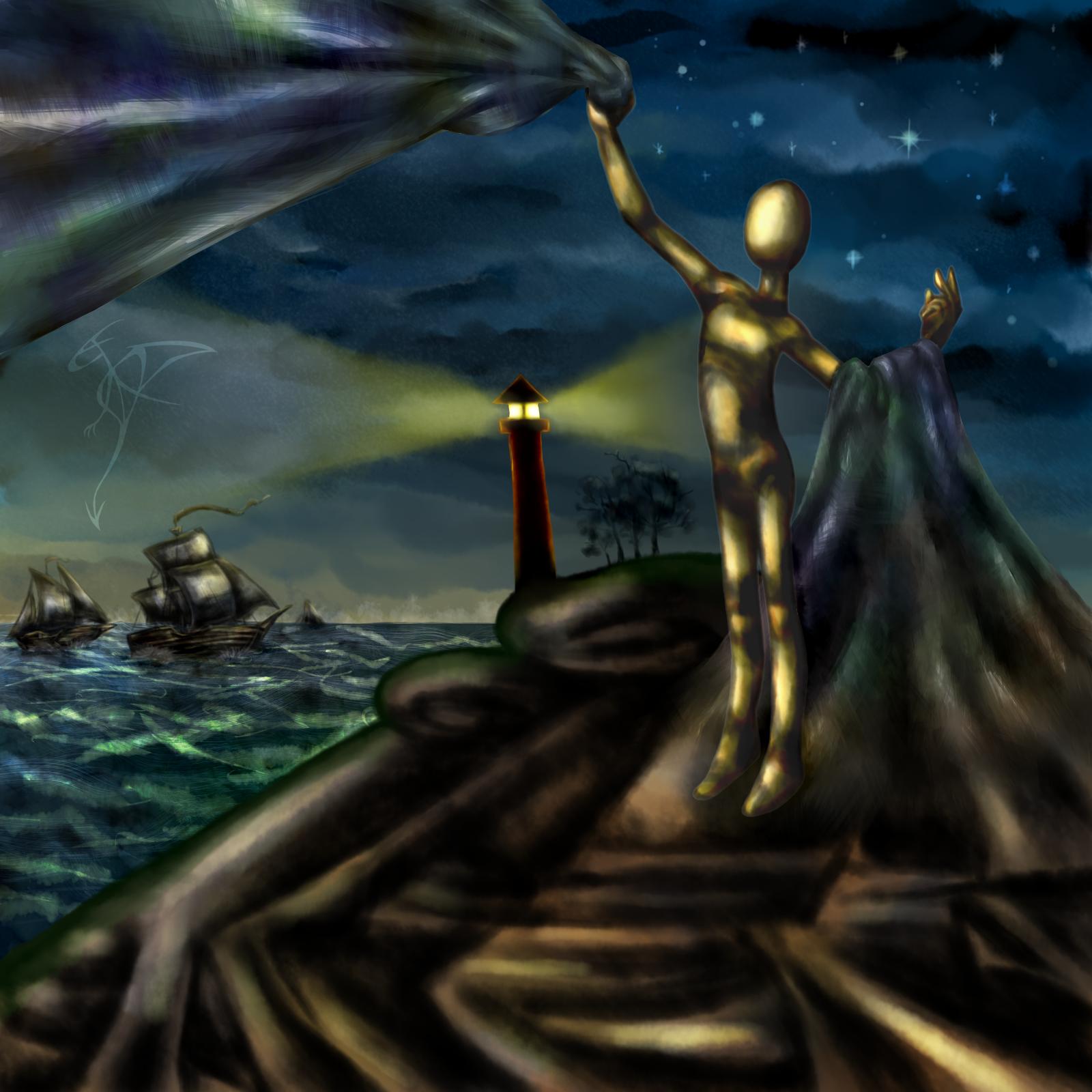 [RYSUNKI]- czyli mini Deviant Saf - Page 6 Lighthouse_by_fandragonball-da0m34z