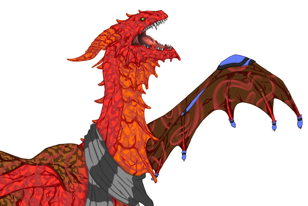 Zgroza - Guardian  dragon FR W.I.P. by FanDragonBall
