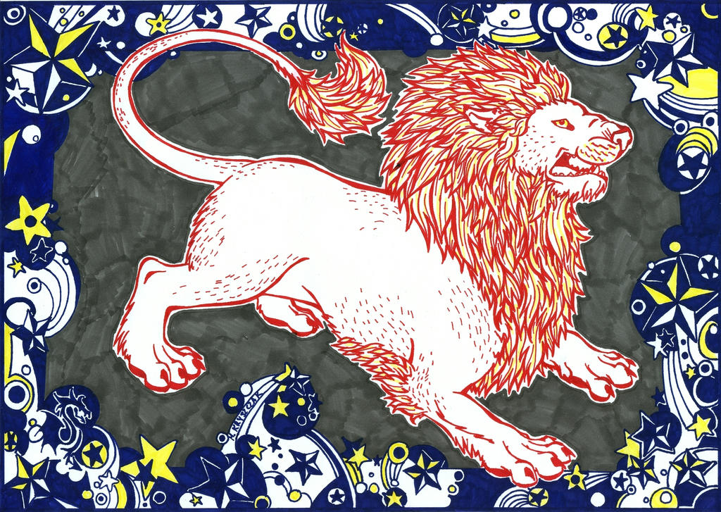 Astral Lion by FanDragonBall
