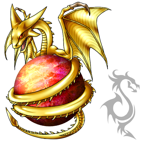 Super Shenron- lord of planet Vegeta by FanDragonBall