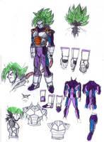 Greefis- new design armor concept sketch