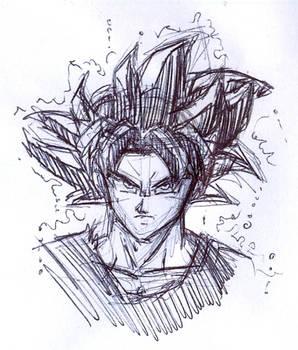 Goku UI sketch
