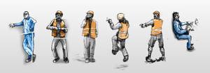 Fat railwaymen by Ecthelion-2