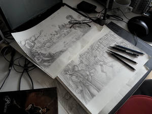 Stories of the Empire sketches