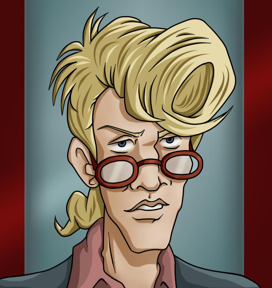 Ghostbusters Egon Cartoon Www Imagessure Com