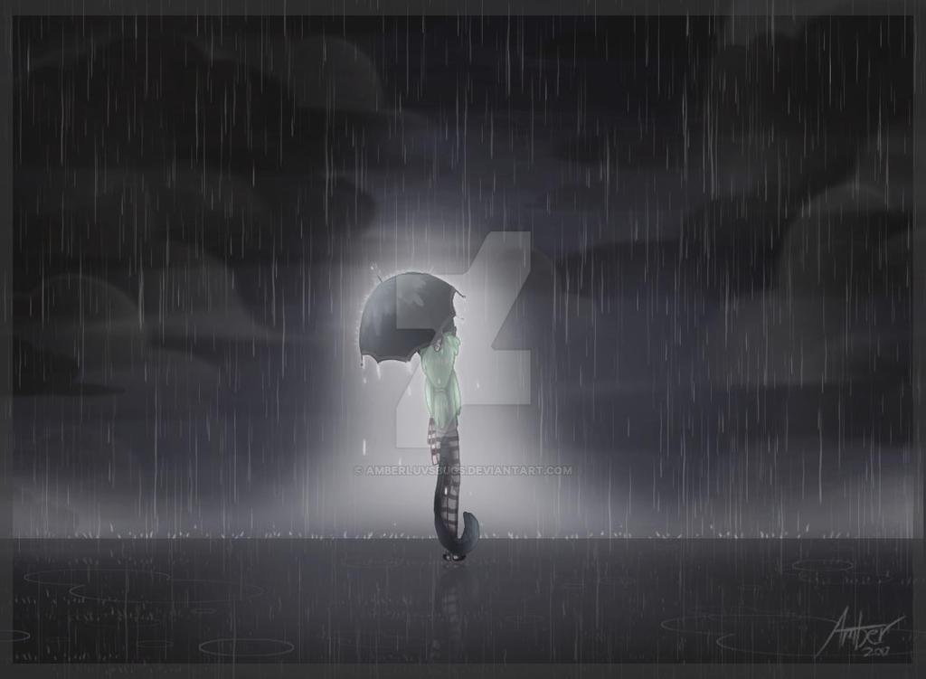 Rainy day by Amberluvsbugs