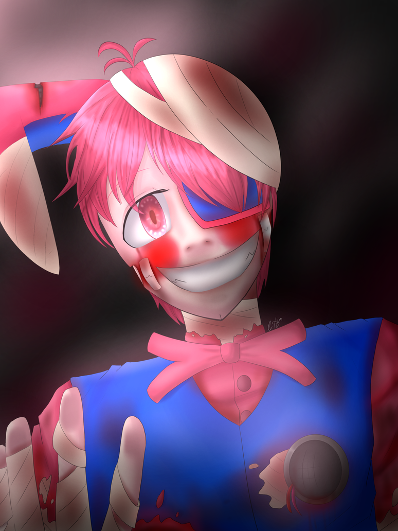 Funtime (regular) (slight gore warning (blood)) by LightNinja308