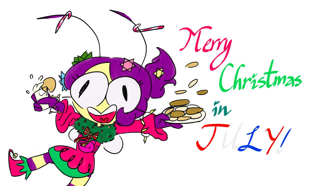 Merry Christmas In July Clipart.Merry Christmas In July By Thehoneyqueen On Deviantart