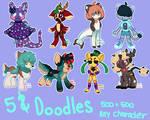 5$ doodles