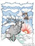 Mr. Elk and His Friend by Nicole-Marie-Walker