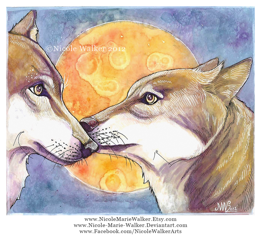 Wolves by Nicole-Marie-Walker