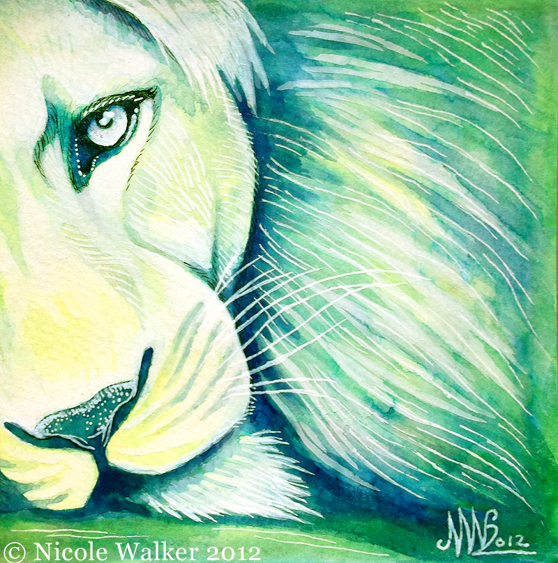 Little Lion by Nicole-Marie-Walker