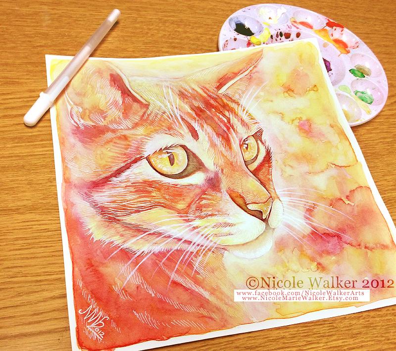 Groovy Cat by Nicole-Marie-Walker